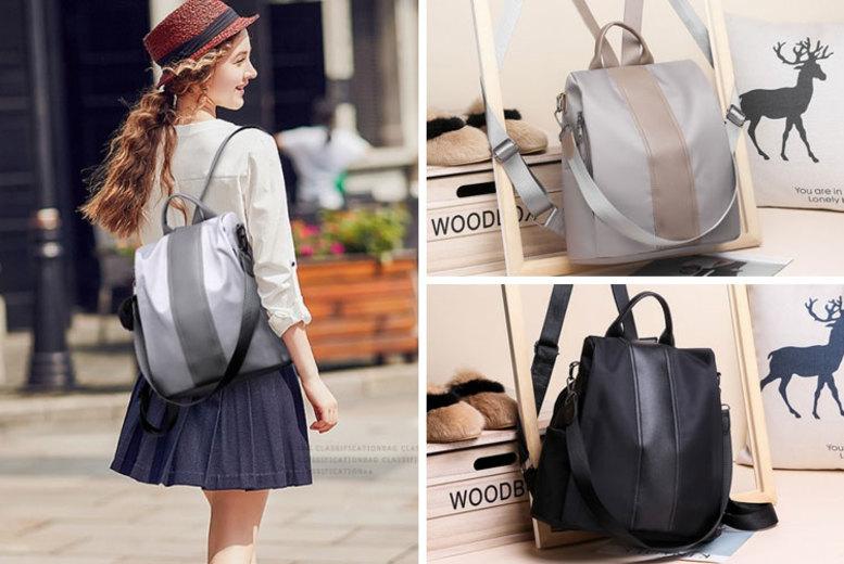 Anti-Theft Shoulder Bag – 3 Colours!