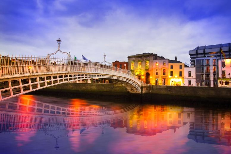 2-3nt Dublin City Getaway, Guinness Storehouse Ticket & Flights