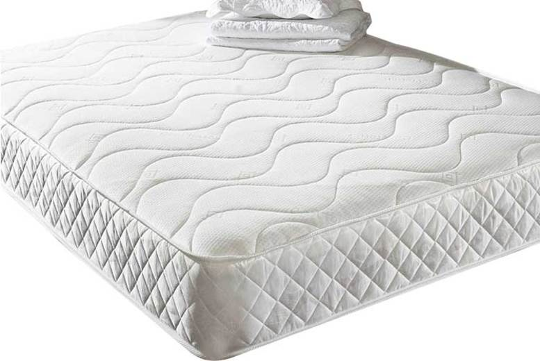 Memory Foam Quilted Mattress – 6 Sizes! (£49)