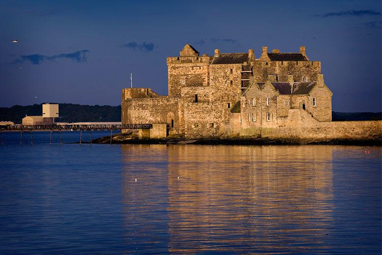 Blackness Castle & Three Bridges Cruise with Cream Tea for 2 or 4