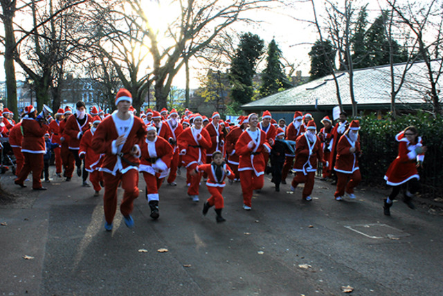 £7.50 instead of £12.50 for entry to a Santa fun run inc. Santa suit in aid of The Bridge School, Islington on 7th Dec - save 40%