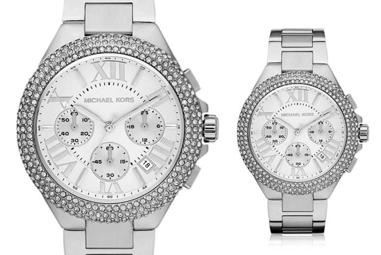 Michael Kors MK5634 Silver Crystal Women's Quartz Watch