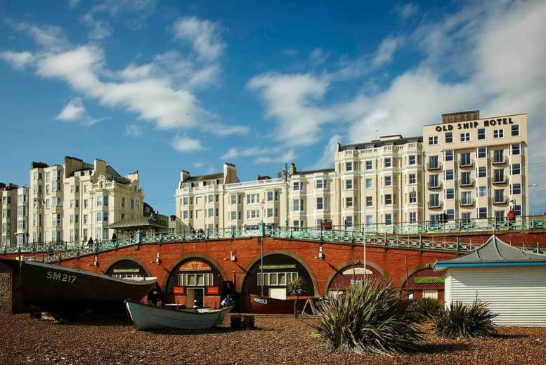 1-2nt 4* Seafront Brighton, 3-Course Dinner, Wine & Breakfast for 2