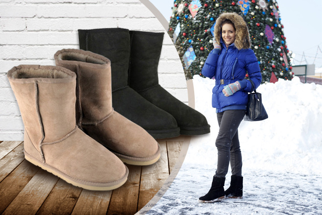 £39 instead of £159.99 (from Shopper Gold) for a pair of 'sheepskin' ankle boots - save a snug 76%