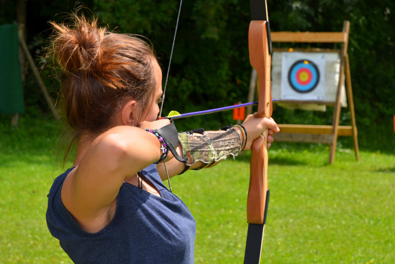 £14 instead of £45 for a two-hour introductory archery and air rifle shooting experience for one person, £21 for two, or £38 for four - save up to 67%