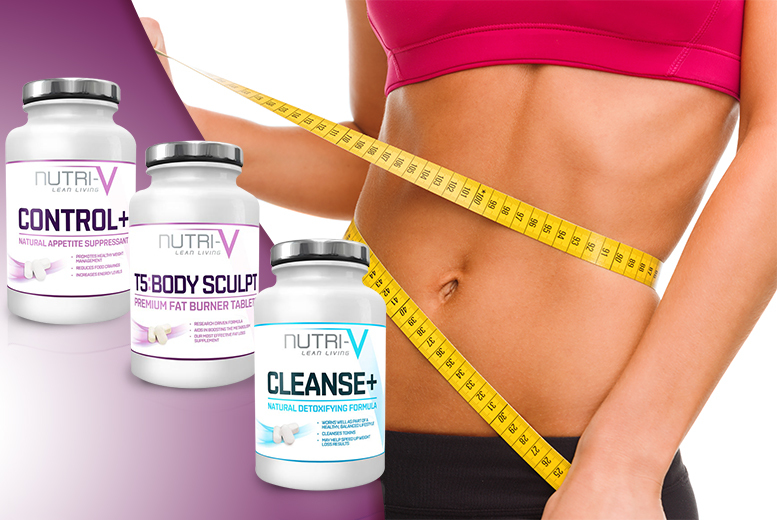 £15 instead of £96 (Nutri-V) for a weight management package - shape up and save 84%