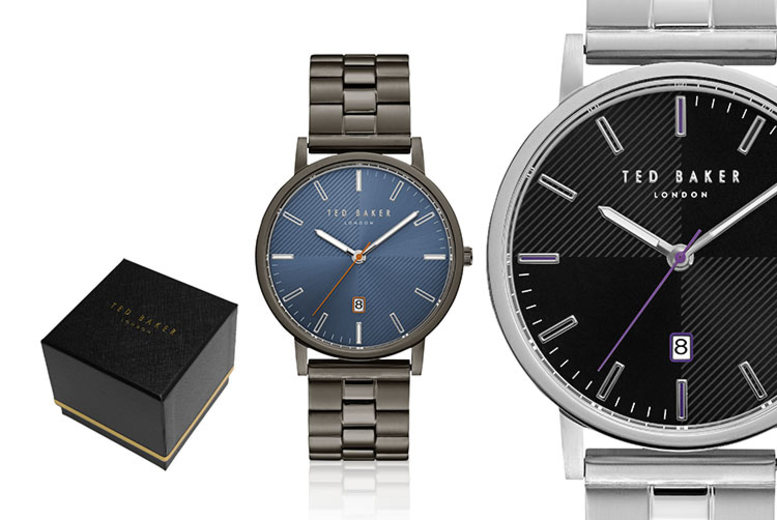 Stainless Steel Ted Baker Men's Watch - 7 Designs!