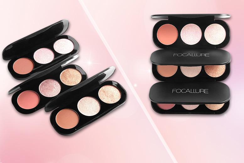 Focallure Ultra-Glow Highlighting Powder – 3 Colours!