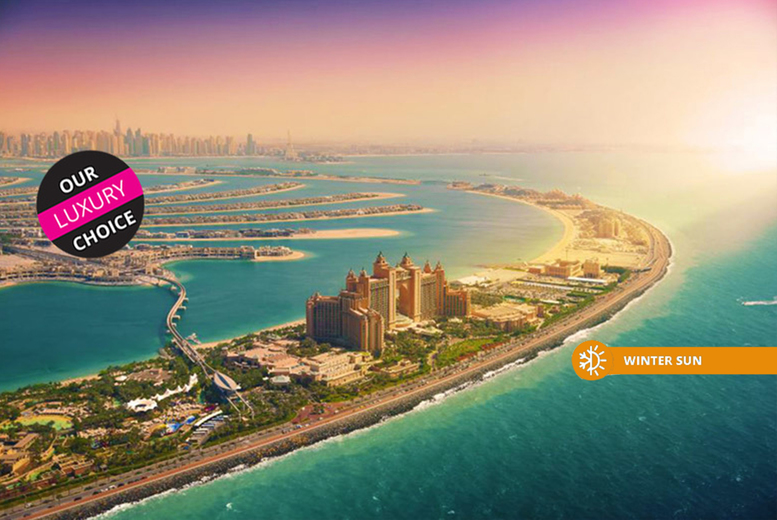 From £399pp (from Weekender Breaks) for a three-night luxury Dubai holiday with return flights, from £449pp for four nights, from £489pp for five nights, or from £539pp for seven nights - save up to 38% from Weekender Breaks