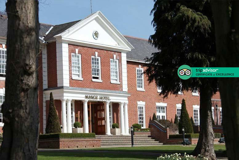 4* Birmingham Manor House, Breakfast, Dinner & Prosecco for 2