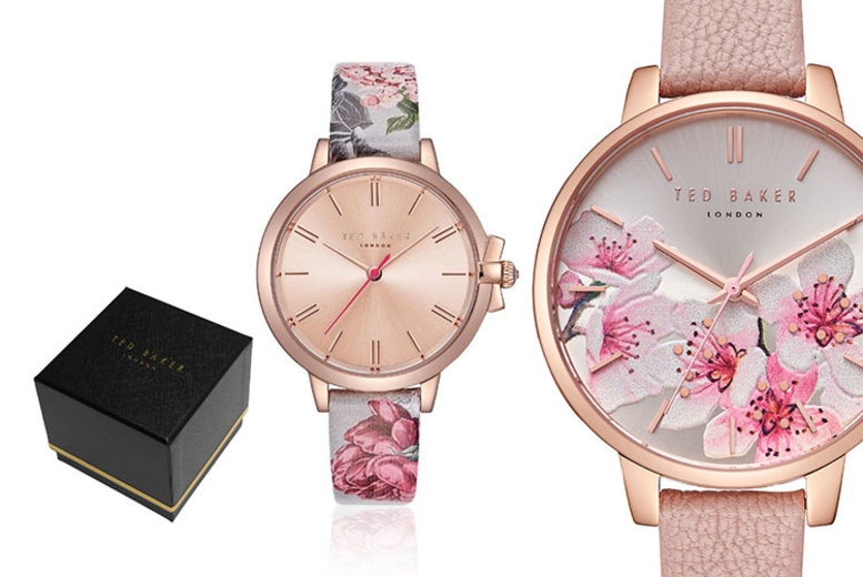 Ted Baker Floral Ladies Watch - 8 Styles!