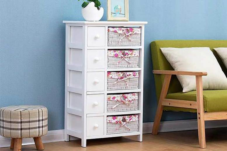 Floral Print Bedroom Furniture – Drawers or Dressing Table!