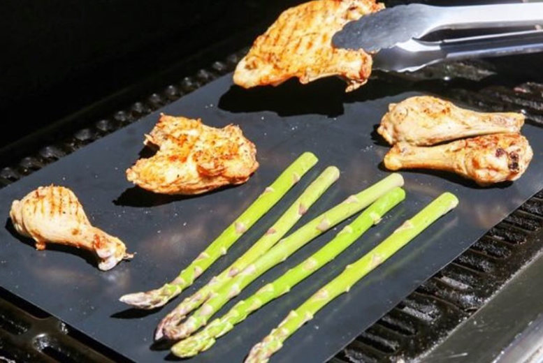 Non-Stick Reusable BBQ Grill Mats - Get 2, 4, 6, 8 or 10!