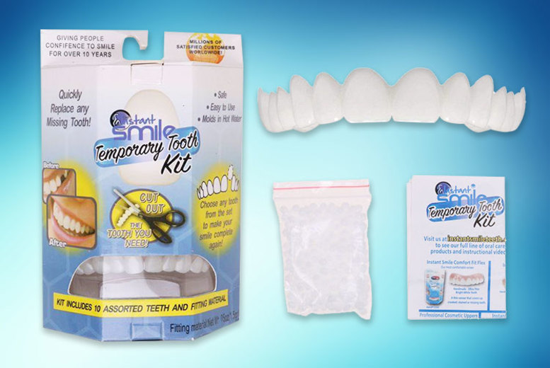 Instant Smile Temporary Tooth Kit for £7.49