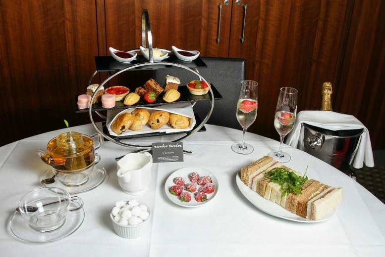 Afternoon Tea & Prosecco for 2 @ The Ambassadors Bloomsbury Hotel