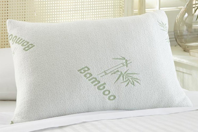 Anti-Allergenic Bamboo Spiral Pillow – 1 or 2! from £8.99