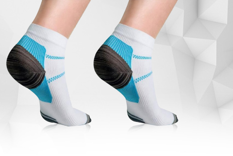 Ankle Compression Socks – 1, 2, 3 or 4 Pairs! from £3.49