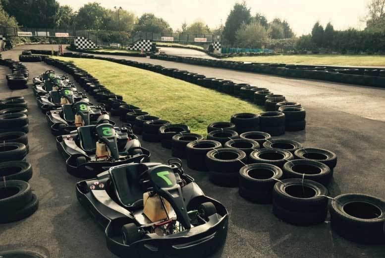 80 Laps Go Karting Experience @ West Country Karting, Bristol
