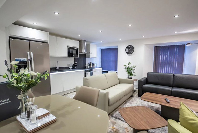 1-2nt Luxury Devon Apartment Stay & Bottle of Prosecco for up to 12
