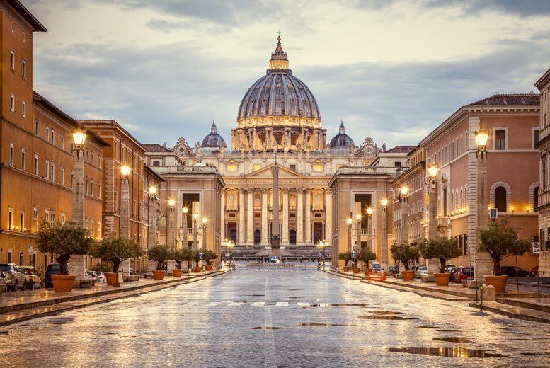 2-3nt Romantic Rome Retreat, Airport Transfers & Flights