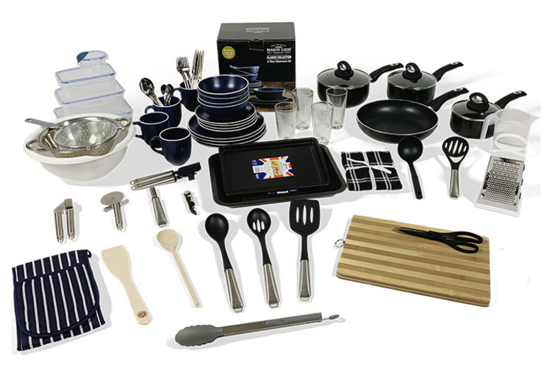Kitchen Starter Boxes – Up to 70+ Pieces!