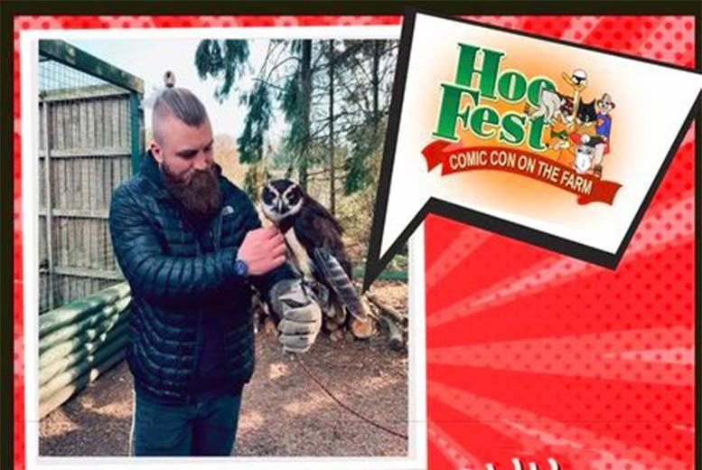 Family Tkt To Hoo Fest @ Hoo Farm Animal Kingdom, Telford