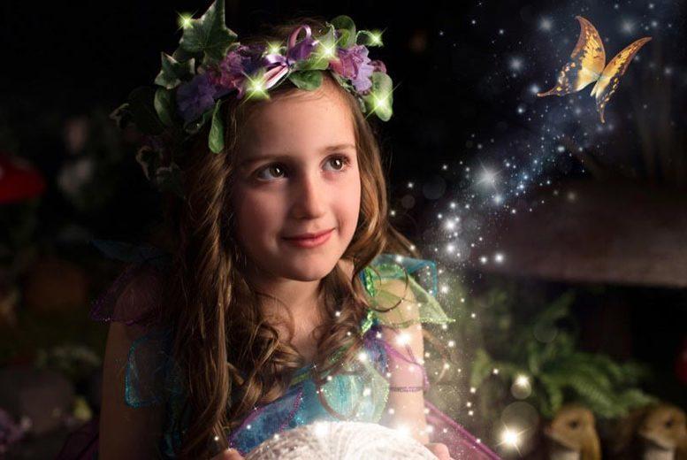 Edinburgh: 1hr Fairy or Elf Photoshoot & Print @ Nicola Bald Photography for £9