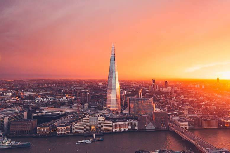 1-2nt 4* London Stay, View from The Shard, Thames Cruise & Breakfast