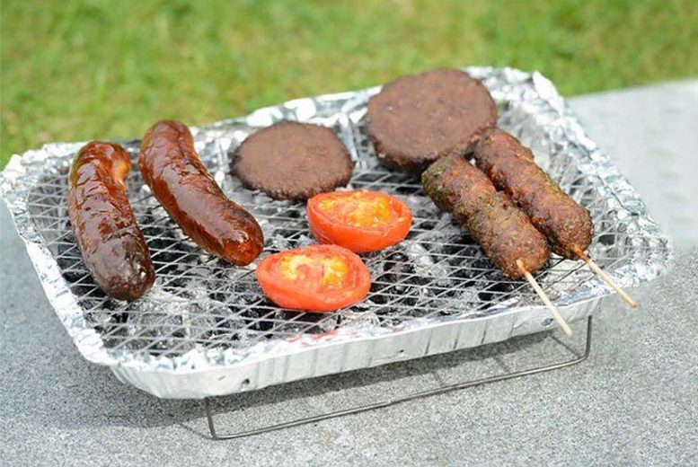 1, 2 or 4 Disposable Instant BBQ Grills
