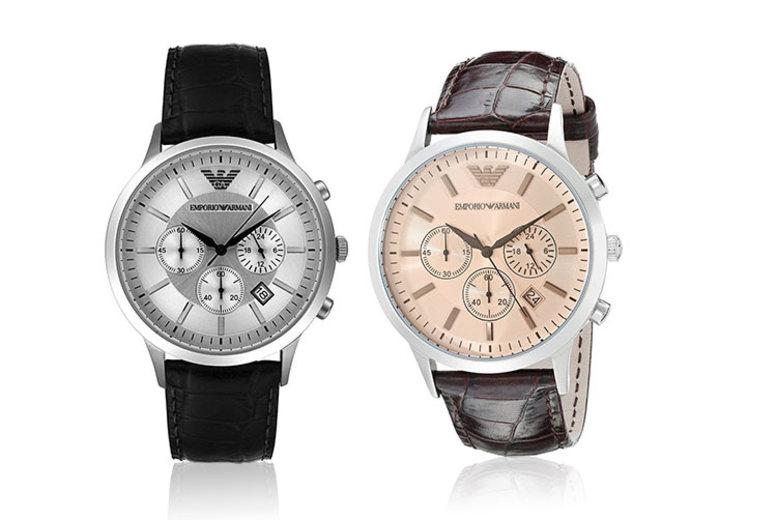 Emporio Armani Chronograph Watch – 2 Designs!