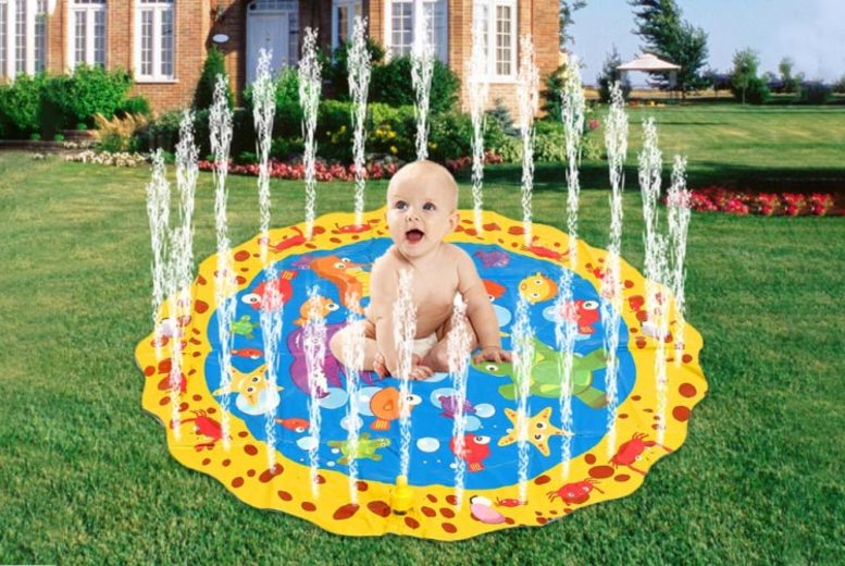 Inflatable Kid's Sprinkler Splash Mat