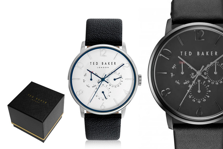 Ted Baker Black Men's Watches – 6 Designs!