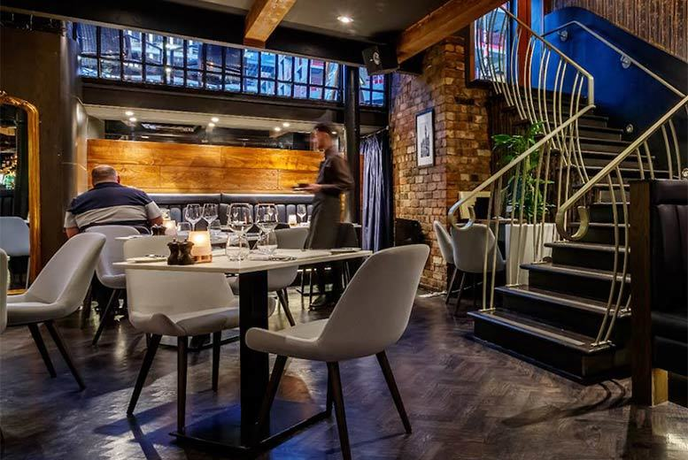 2-Course Dining for 2 @ Marco Pierre White's Chophouse, Manchester