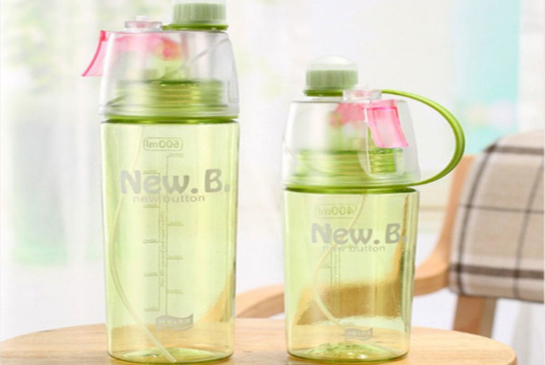 Cooling Spray Sports Bottle  2 Sizes & 3 Colours!