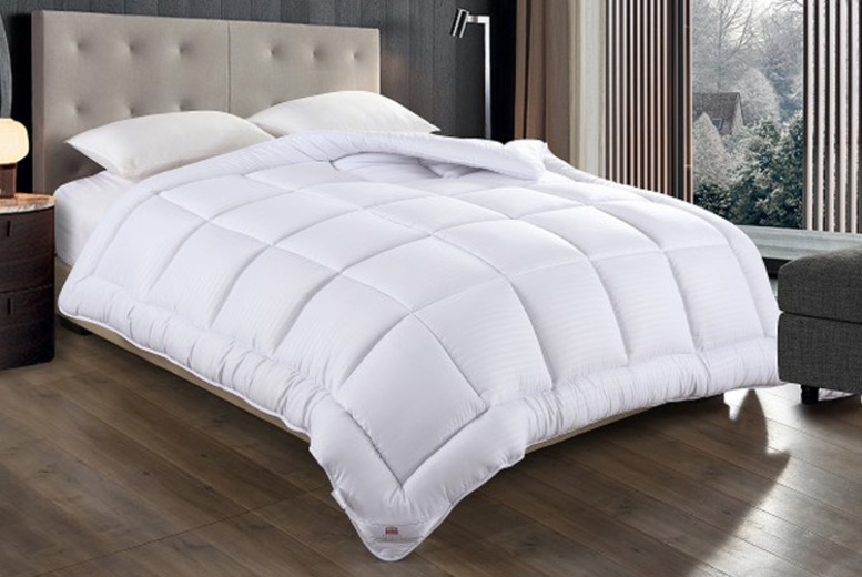 13.5 Tog Microfibre Down-Like Duvet – 4 Sizes! from £19.99