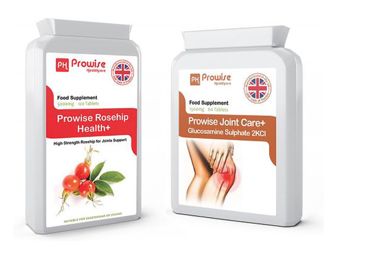 Joint Health Bundle – 2mnth Joint Care & 3mnth Rosehip Supply!
