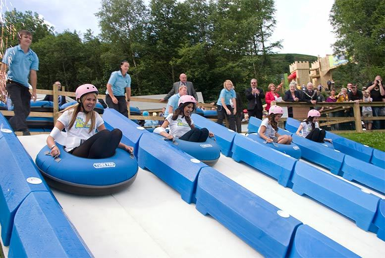 10 Super Tubing Rides For 2 Or 4 People, Ebbw Vale