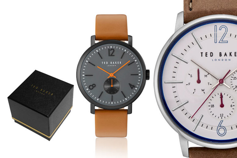 Ted Baker Brown Men's Watch - 8 Designs!