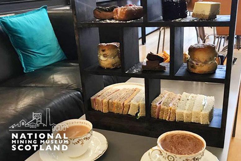 Edinburgh: Café Coal Afternoon Tea @ National Mining Museum – Prosecco Upgrade from £15