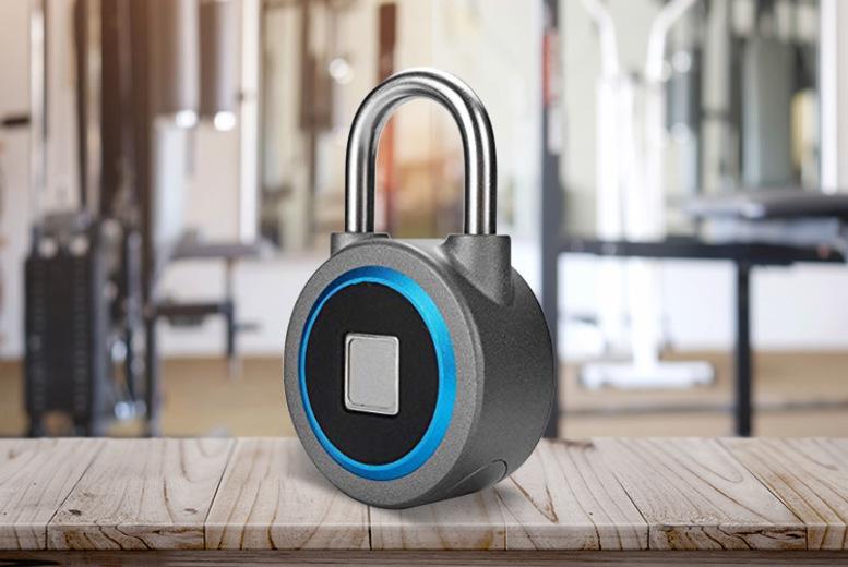 Ener-J Smart Bluetooth Fingerprint Padlock