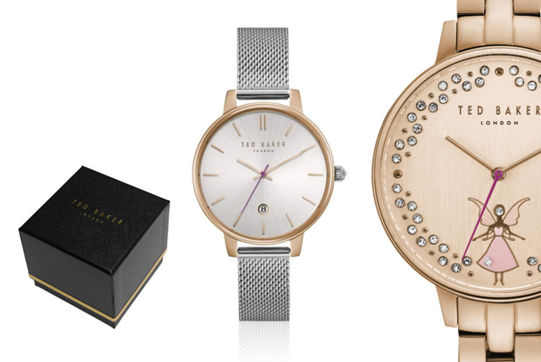 Ted Baker Ladies Stainless Steel Watches – 13 Designs!