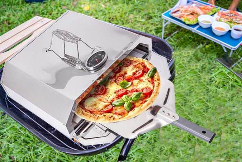 Forno BBQ Top Stone Pizza Oven