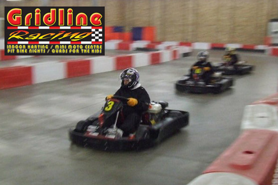 £12.50 instead of £25 for 30 minutes 'Arrive and Drive' Karting at Gridline Racing in Lincoln. Bring out your inner speed demon and save 50%