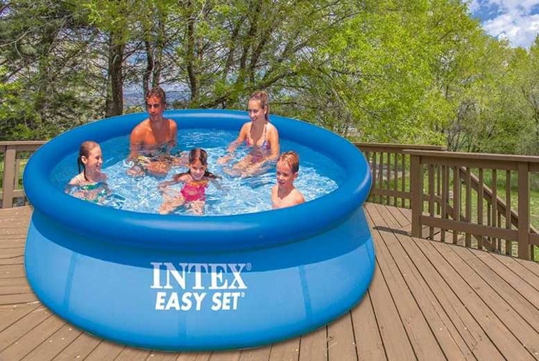 Intex Easy Set Outdoor Swimming Pool – 3 Sizes!
