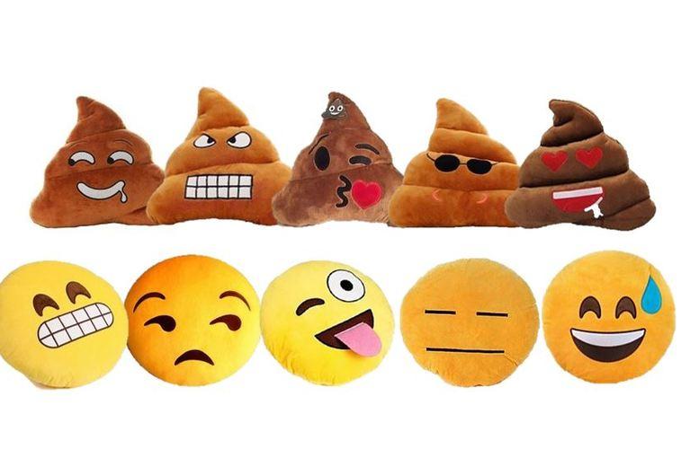 Emoji Cushions – 10 Designs!