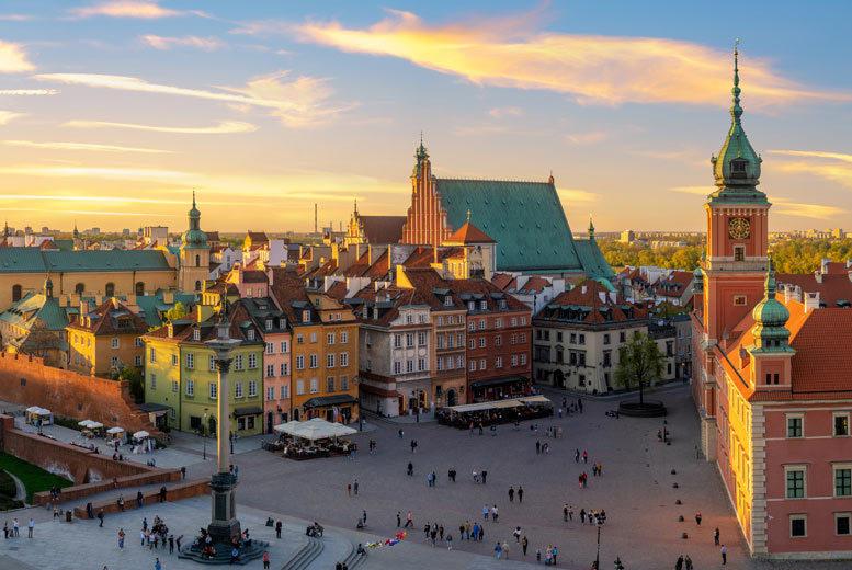 4-6nt Krakow & Warsaw City Break Trip & Flights