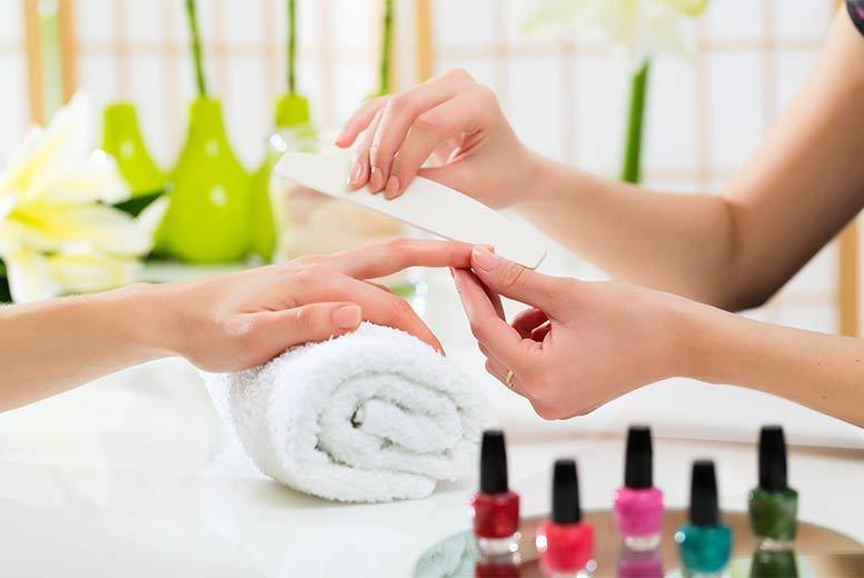 Gel Polish Manicure @ Hair Ritz