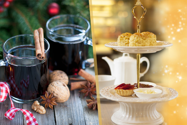 £24 for a Christmas afternoon tea for 2 including a glass of mulled sparkling wine each at The Royal Trafalgar Thistle Hotel, Trafalgar Square
