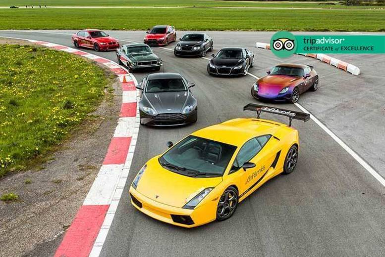 'Blast' or 'Thrill' Supercar Experience – 4 or 8 Laps!
