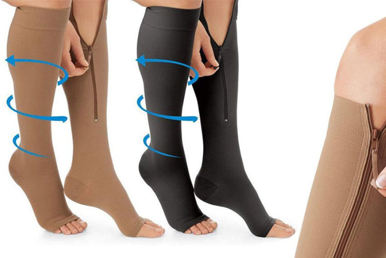 2 or 4 Travel & Flight Circulation Socks – 2 Colours! (£6.98)